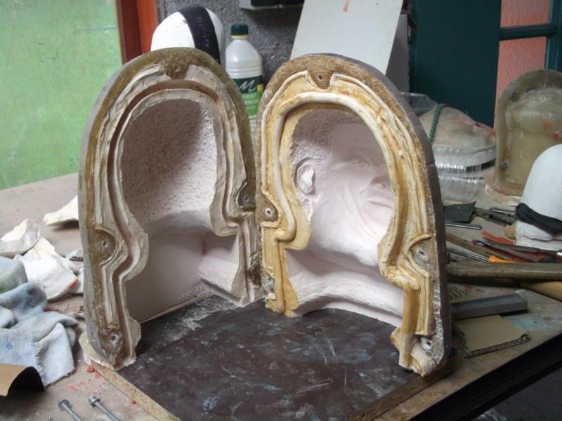 Les étapes pour un Bronze de Madiba Moule111