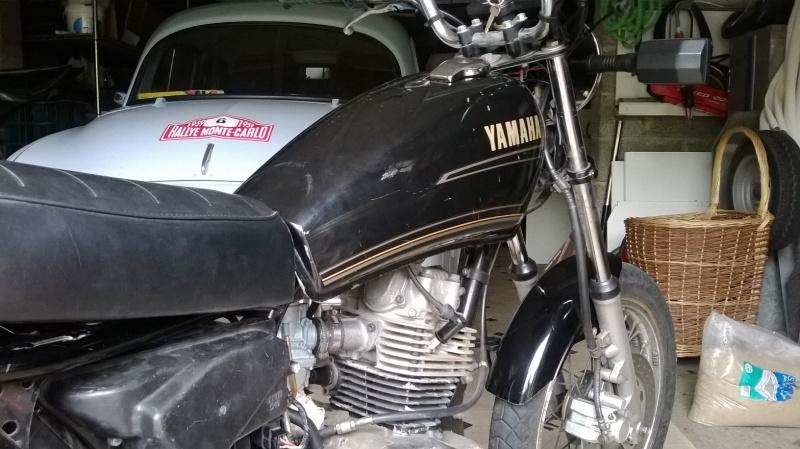 Yamaha SR 125 cafe racer Wp_20144
