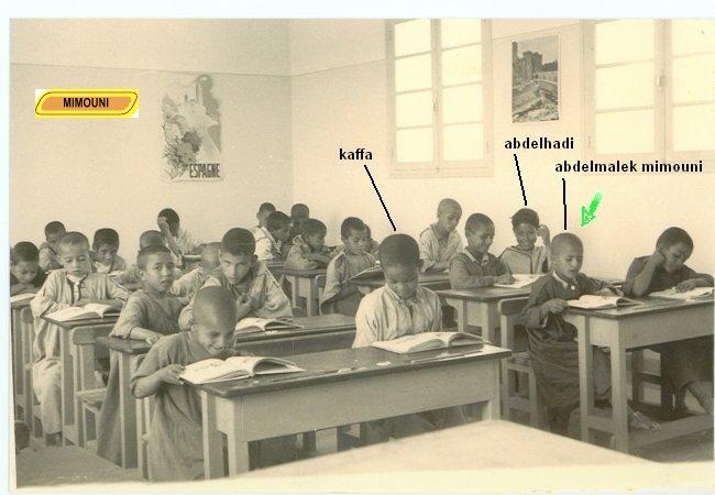 Anciens eleves Ouled Mimoune 1955 Mimoun10