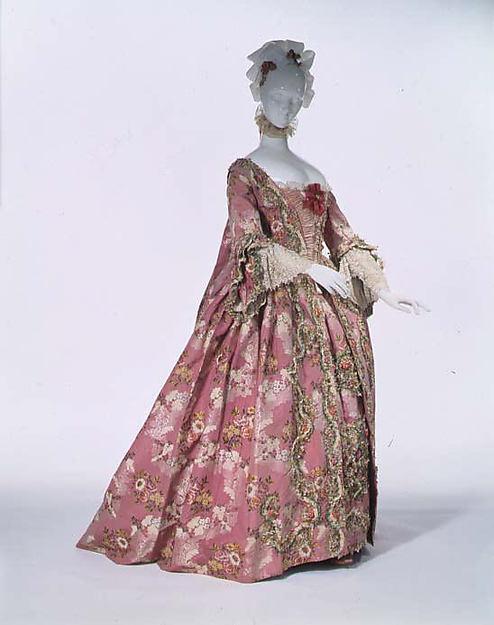 robes XVIIIe: styles, couleurs et matières  Tumblr16