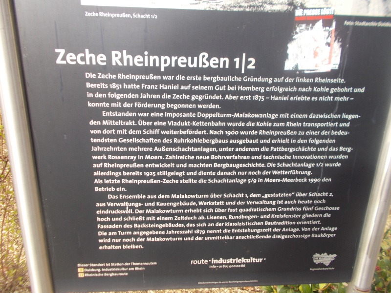Zeche Rheinpreußen Schacht 1 Dscn1410