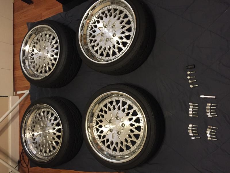 FS AG Wheels F140 18x8.5 18x9.5 w/ tires Img_2410