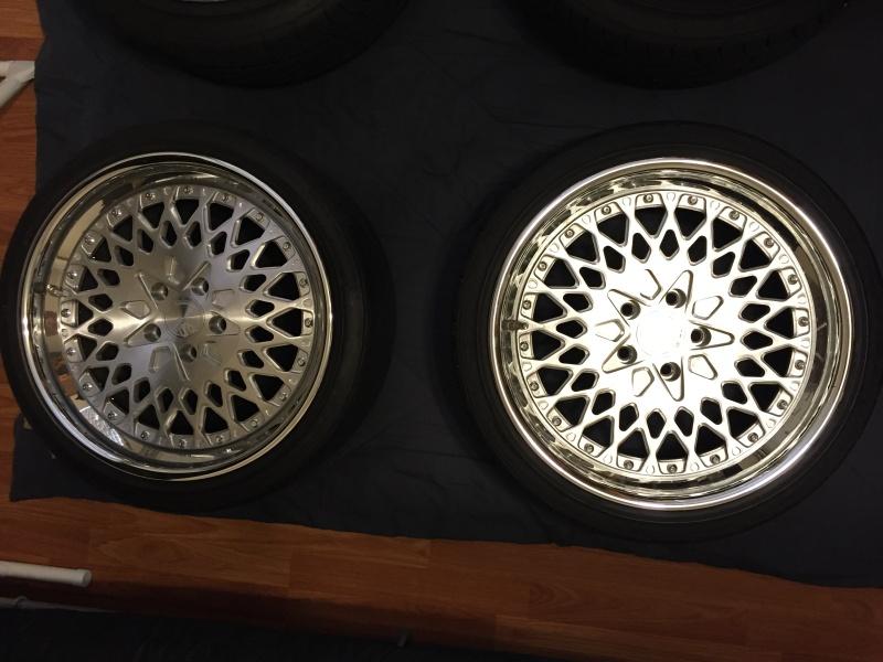 FS AG Wheels F140 18x8.5 18x9.5 w/ tires Img_2411