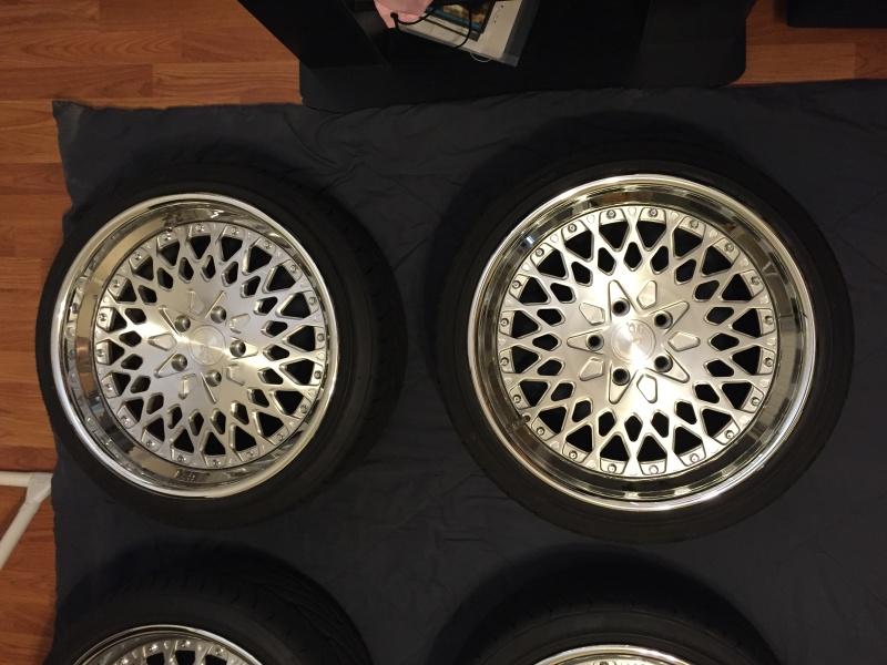 FS AG Wheels F140 18x8.5 18x9.5 w/ tires Img_2413