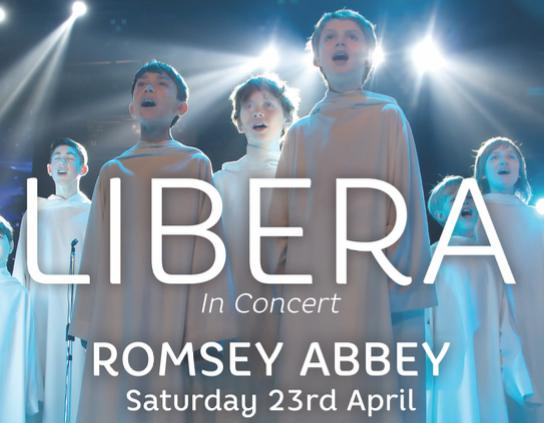 Concert à Romsey Abbey au Royaume-Uni le 23 avril 2016 Libera10