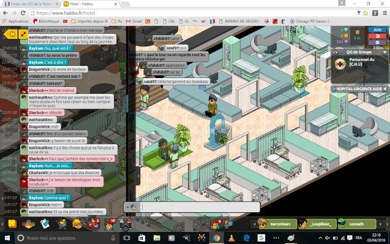 Rapports d'actions RP de Reykom [C.H.U] 315