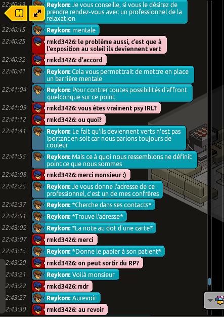 Rapports d'actions RP de Reykom [C.H.U] 421