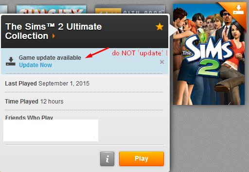 Lagging issues on Windows 10 & The Sims 2 Ultimate Collection? Screen10