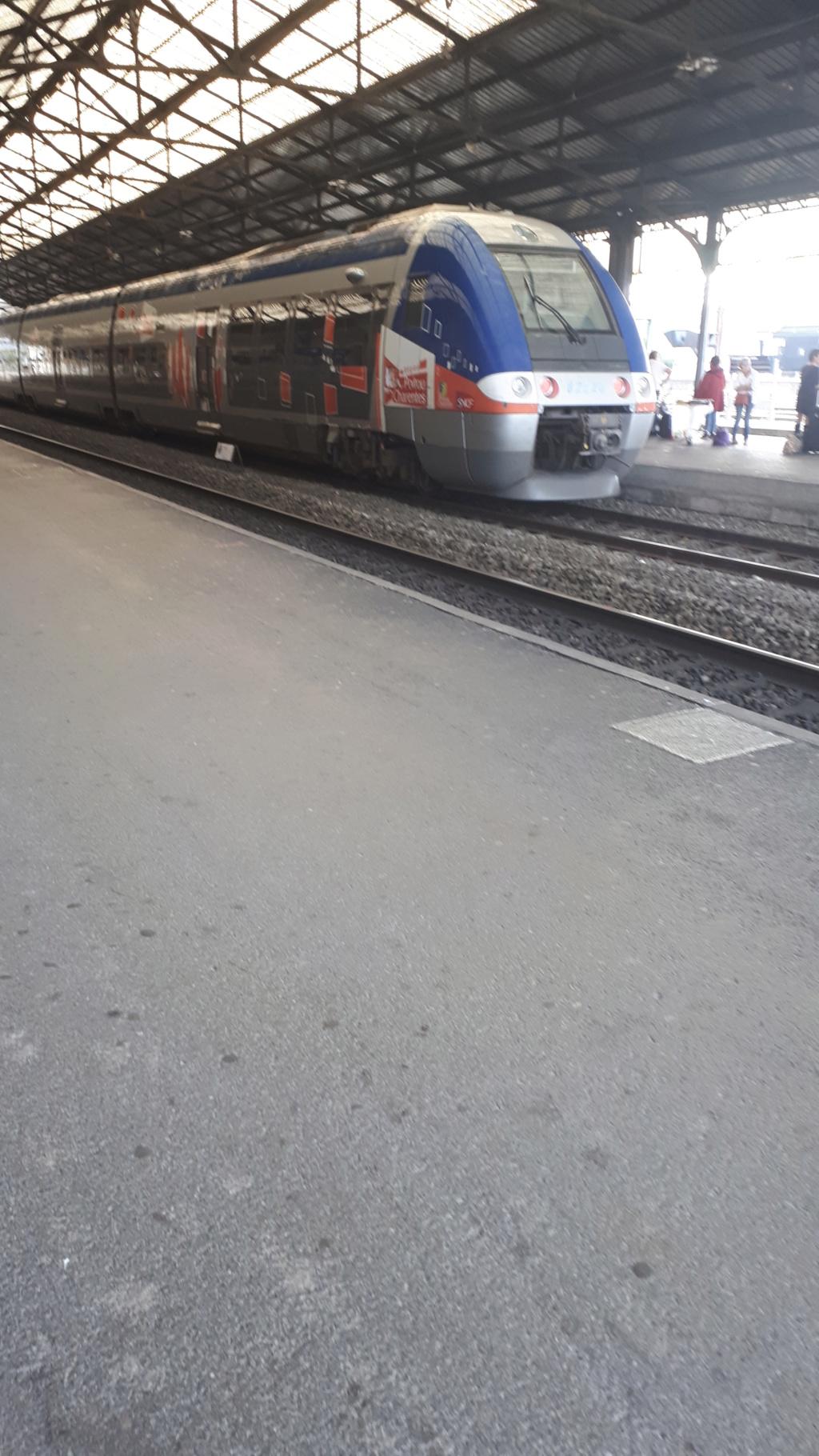 Gare d'angouleme  un dimanche matin 20181010