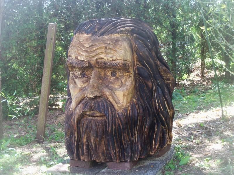 sculpture à la tronçonneuse 100_6710