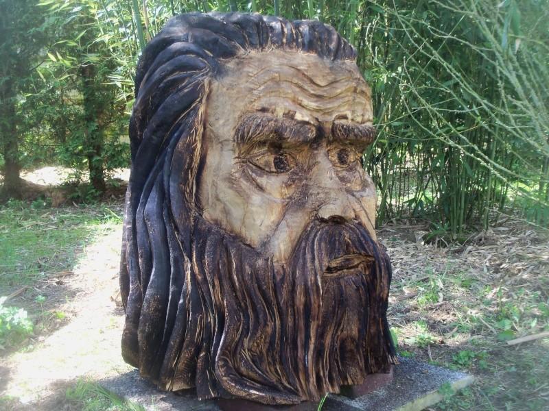 sculpture à la tronçonneuse 100_6711