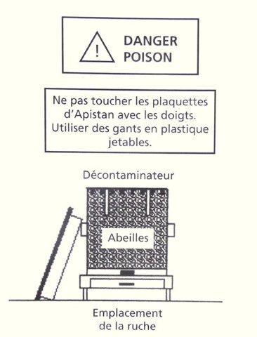 Ruche écologique et barrettes: Lutte VARROAS Dsc01116
