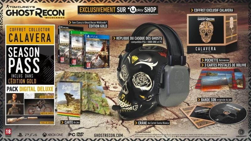 Ghost Recon Wildlands edition collector Collec10