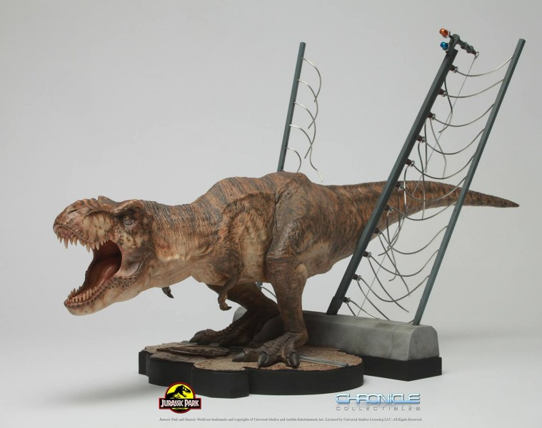 Figurine T-Rex Jurassic Park par Chronicle Collectibles  Figuri12