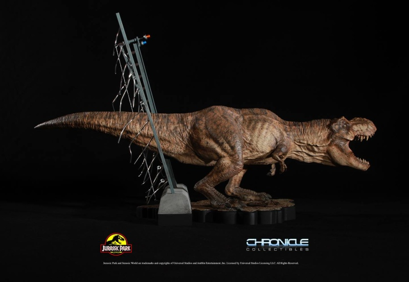 Figurine T-Rex Jurassic Park par Chronicle Collectibles  Figuri13