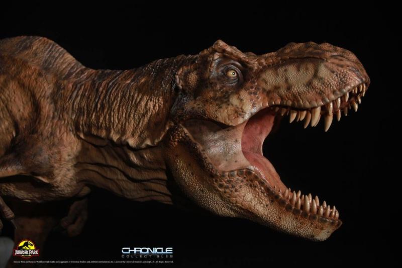 Figurine T-Rex Jurassic Park par Chronicle Collectibles  Figuri15