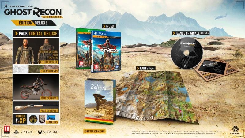 Ghost Recon Wildlands edition collector Tom-cl10