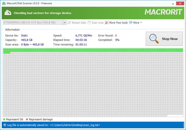 برنامج كشف الباد سيكتور واصلاحها Macrorit Disk Scanne بحجم 3 ميجا Dzildv10