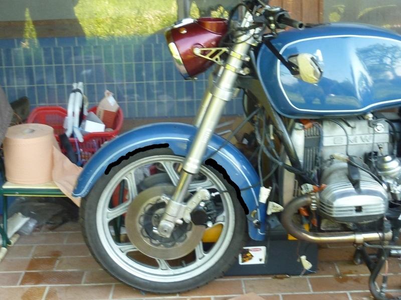 "R80RT Monolever, histoire d'une grosse transfo ""Evergreenbike"" - Page 5 P1050326"