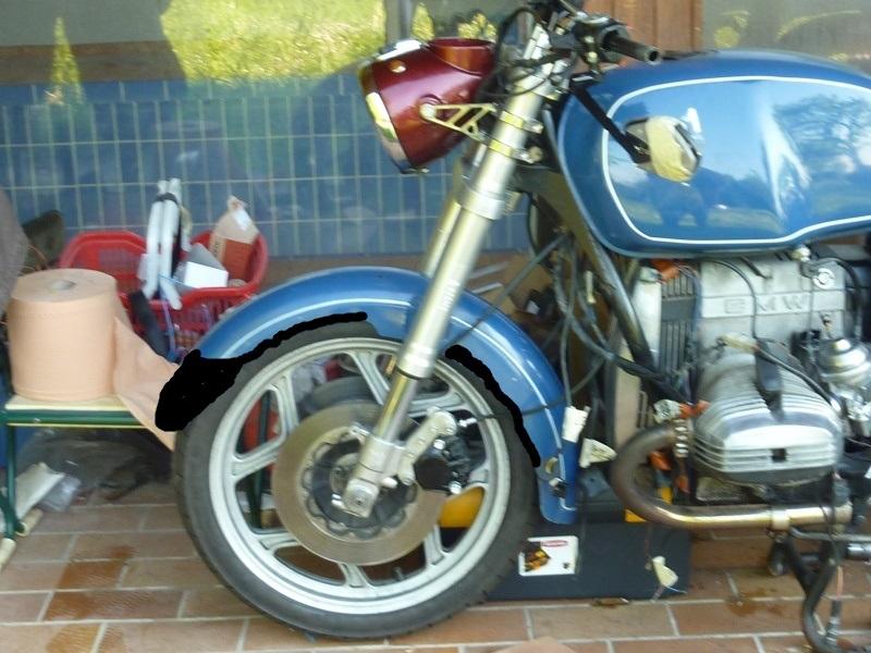 "R80RT Monolever, histoire d'une grosse transfo ""Evergreenbike"" - Page 5 P1050327"