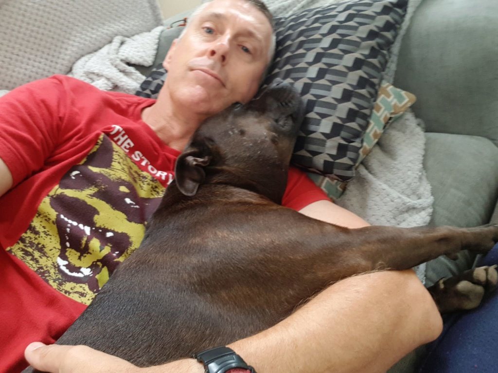 Just Staffy and me  710