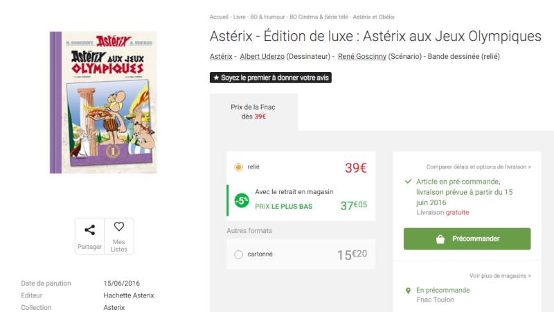 Nouvelle édition d'Astérix aux jeux olympiques Screen10