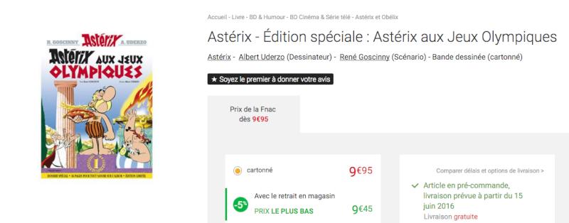 Nouvelle édition d'Astérix aux jeux olympiques Screen11