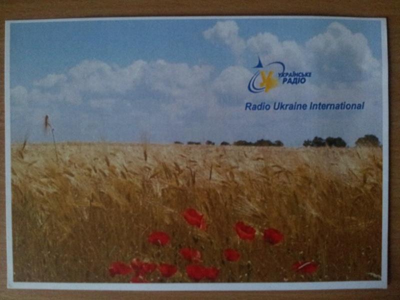 QSL de Radio Ukraine Internationale 20160593