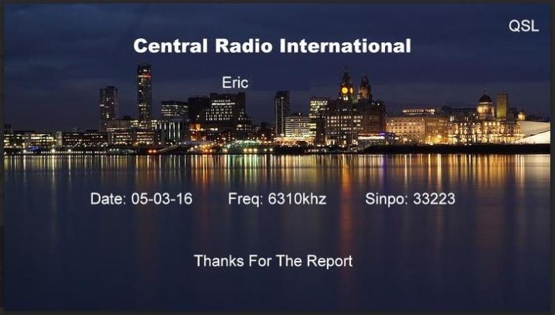 eQSL de Central radio Centra10