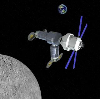 Orbital-ATK propose un avant poste en orbite lunaire pour Orion. 149