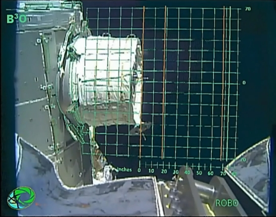 [ISS] Installation et suivi du module BEAM (Bigelow Expandable Activity Module)  Scree131