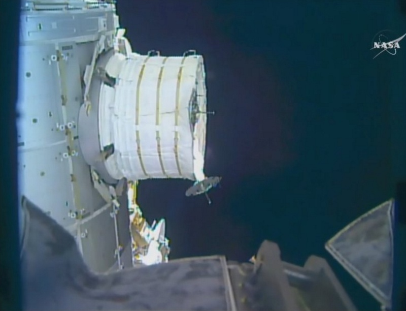 [ISS] Installation et suivi du module BEAM (Bigelow Expandable Activity Module)  - Page 2 Scree134