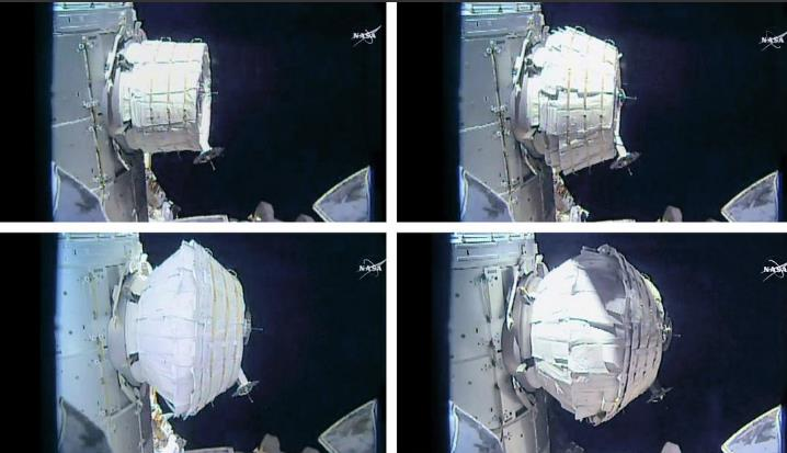 [ISS] Installation et suivi du module BEAM (Bigelow Expandable Activity Module)  - Page 6 Scree158