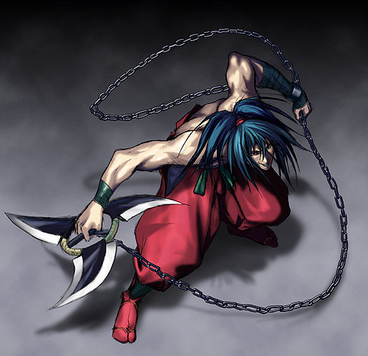 Pour vous qui est le meilleur personnage des jeux de combat SNK - Page 3 Basara11