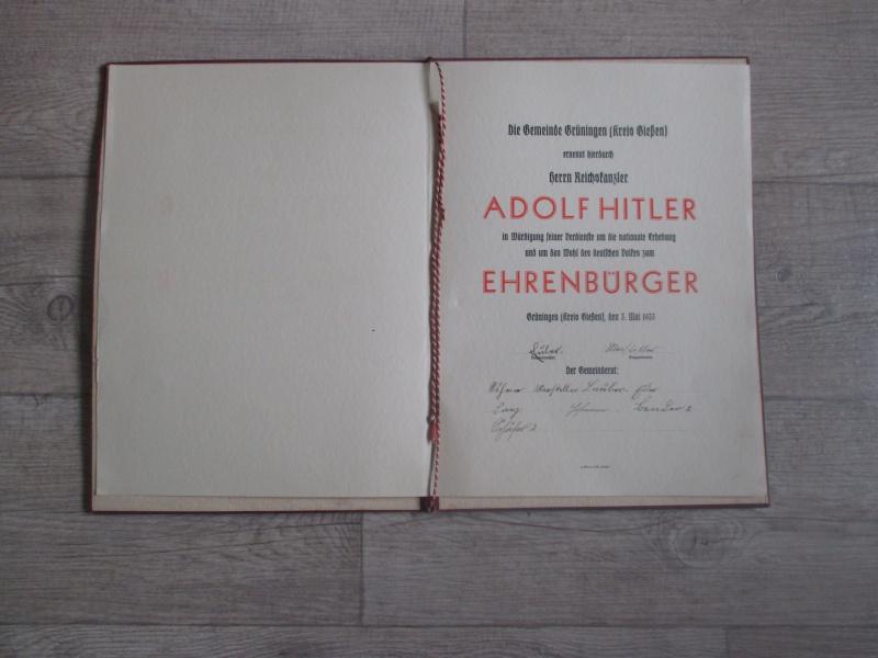 """Livret : """"Ehren Brief"""" de 1933 Img_3015"""
