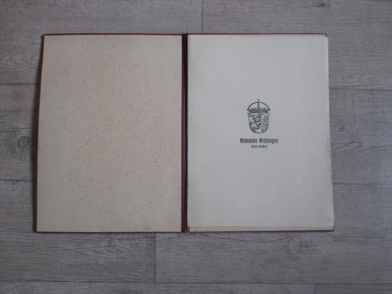 """Livret : """"Ehren Brief"""" de 1933 Img_3016"""