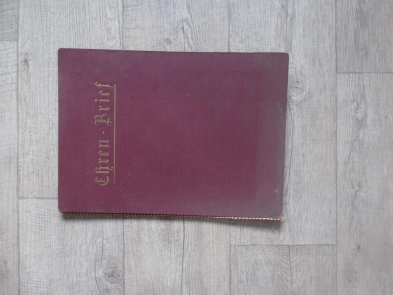 """Livret : """"Ehren Brief"""" de 1933 Img_3017"""