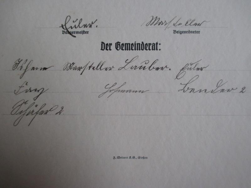 """Livret : """"Ehren Brief"""" de 1933 Img_3018"""