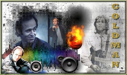 Bannières et photos sur les  chanteurs et chanteuses des années 80 (Créa Pat ) - Page 3 Goldma21