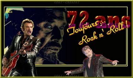 Bannières et photos sur les  chanteurs et chanteuses des années 80 (Créa Pat ) - Page 3 Johnny11