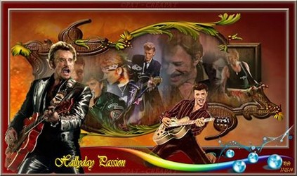 Bannières et photos sur les  chanteurs et chanteuses des années 80 (Créa Pat ) - Page 3 Johnny13