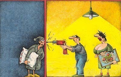Nos chers voisins (humour)  Humour14