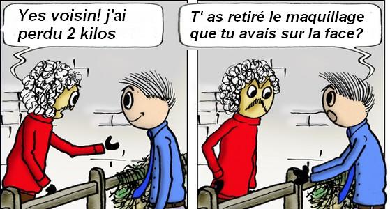 Nos chers voisins (humour)  Humour16