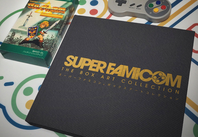 "Livre ""Super Famicom: The Box Art Collection"" Book_s10"
