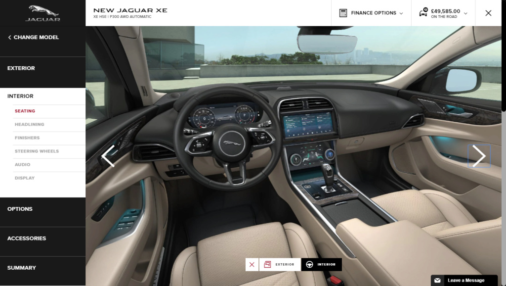 2019 - [Jaguar] XE restylée  2019-011