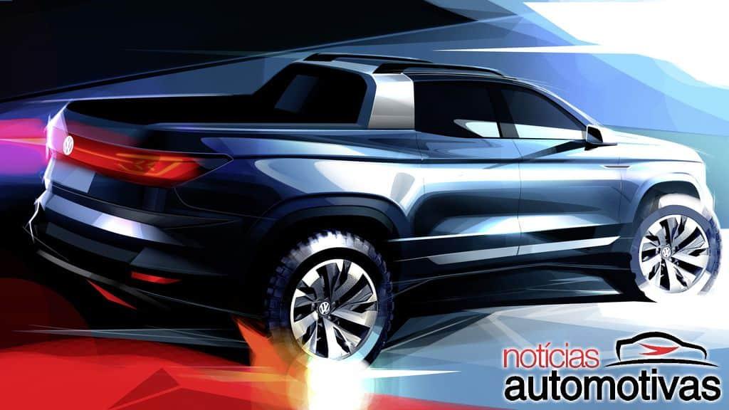 2020 - [Volkswagen] Tarok / MQB Pick-Up  Volksw10