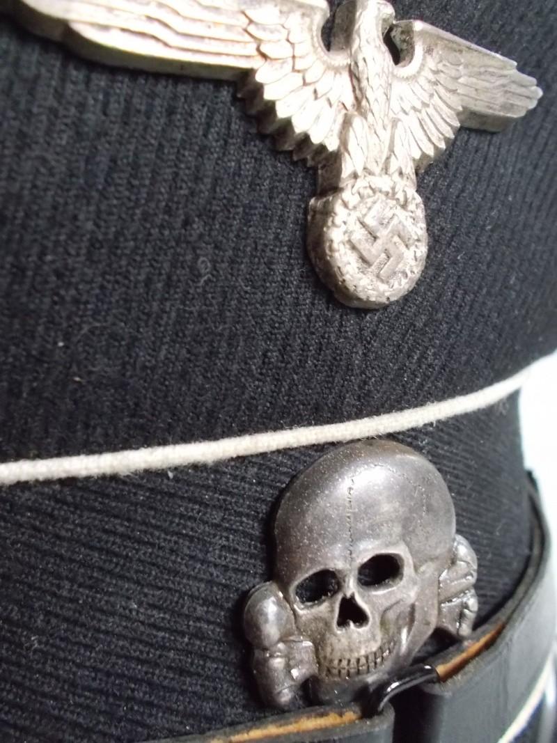 Casquette officier SS Dscn1211