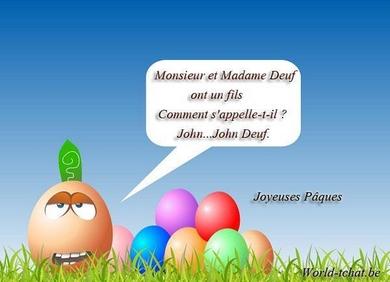 Joyeuse Pâques  John10