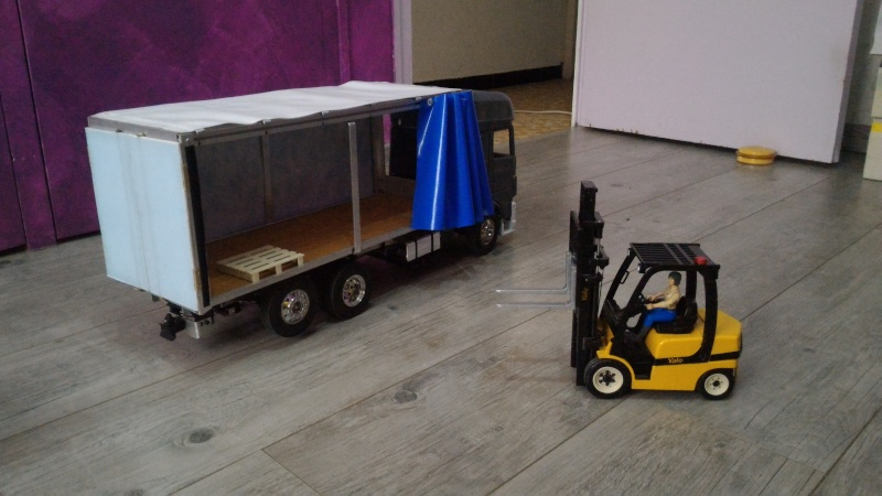 DAF camion remorque traditionnel a l'italienne P_201634