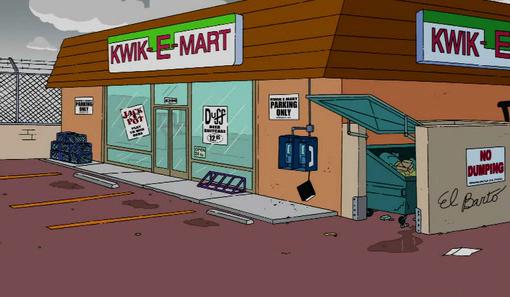 SuperMarket : Magasin Kwik-e10